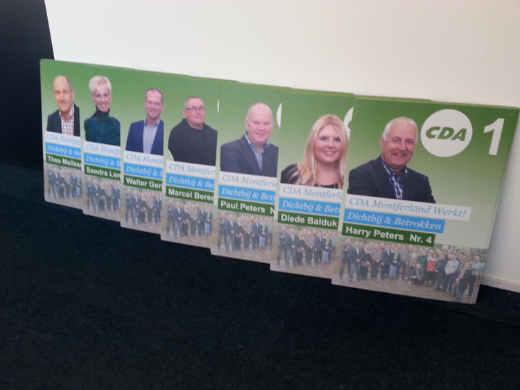 CDA verkiezingscampagne