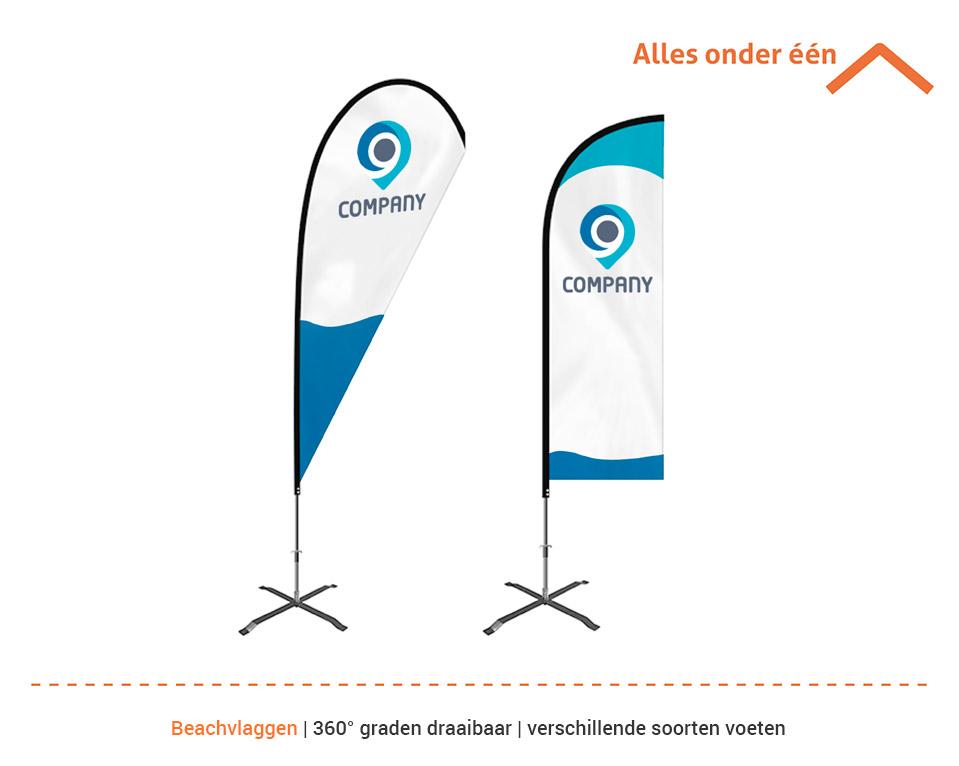CP GrafiMedia beachvlaggen