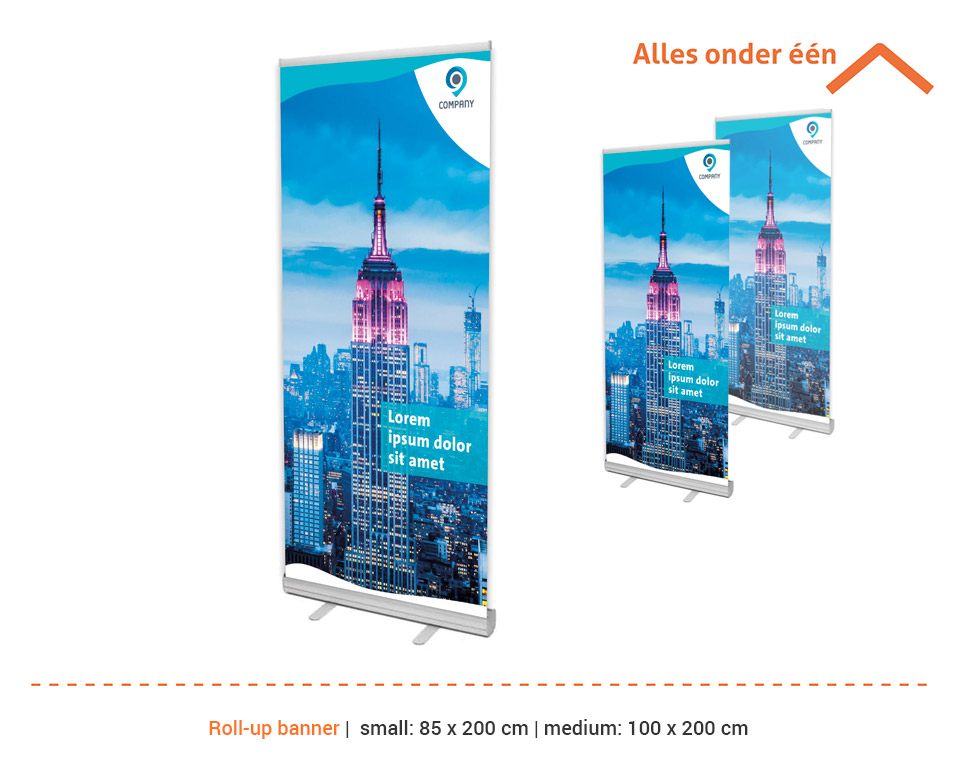 CP GrafiMedia roll-up banners